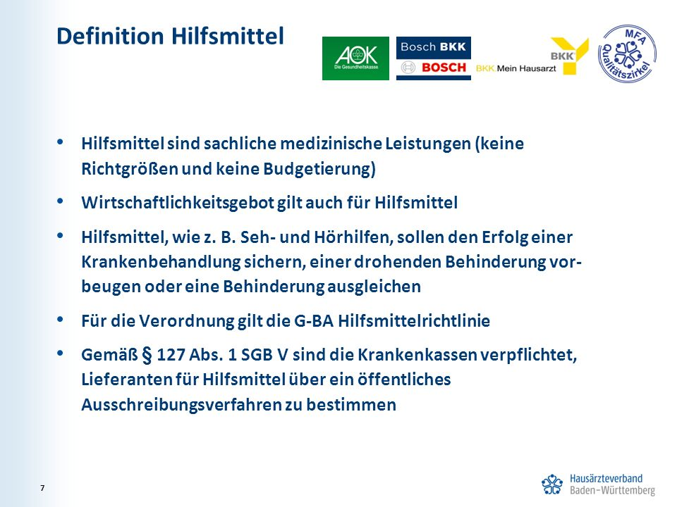 Definition Hilfsmittel