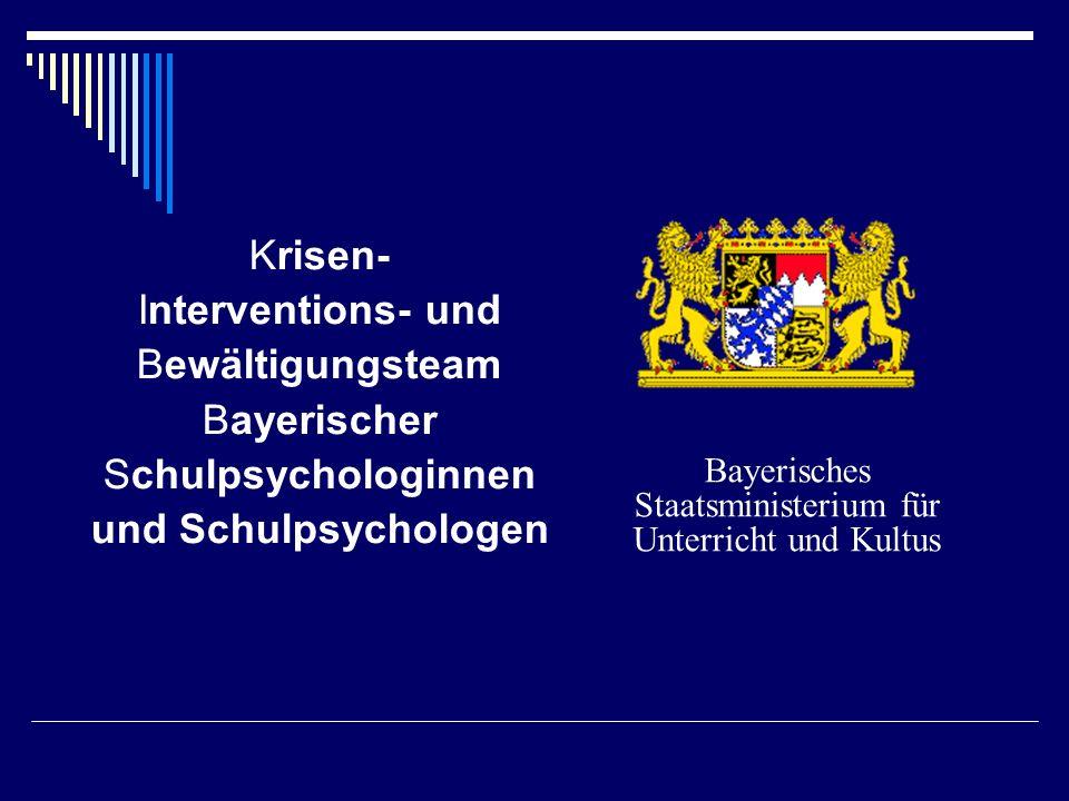 Bayerisches Staatsministerium für Unterricht und Kultus