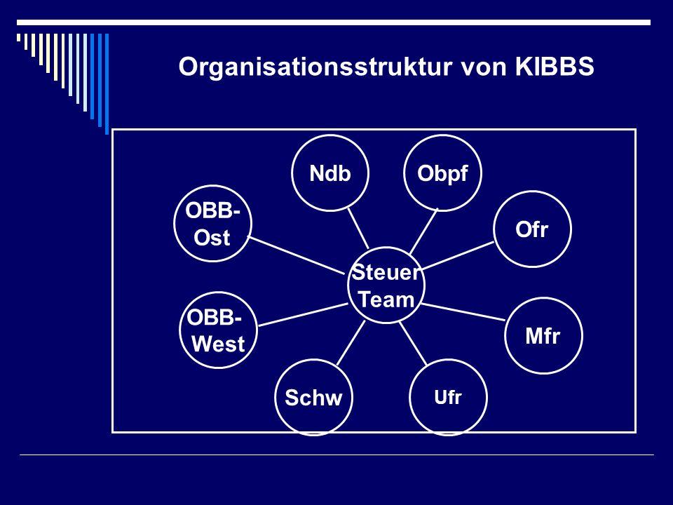 Organisationsstruktur von KIBBS