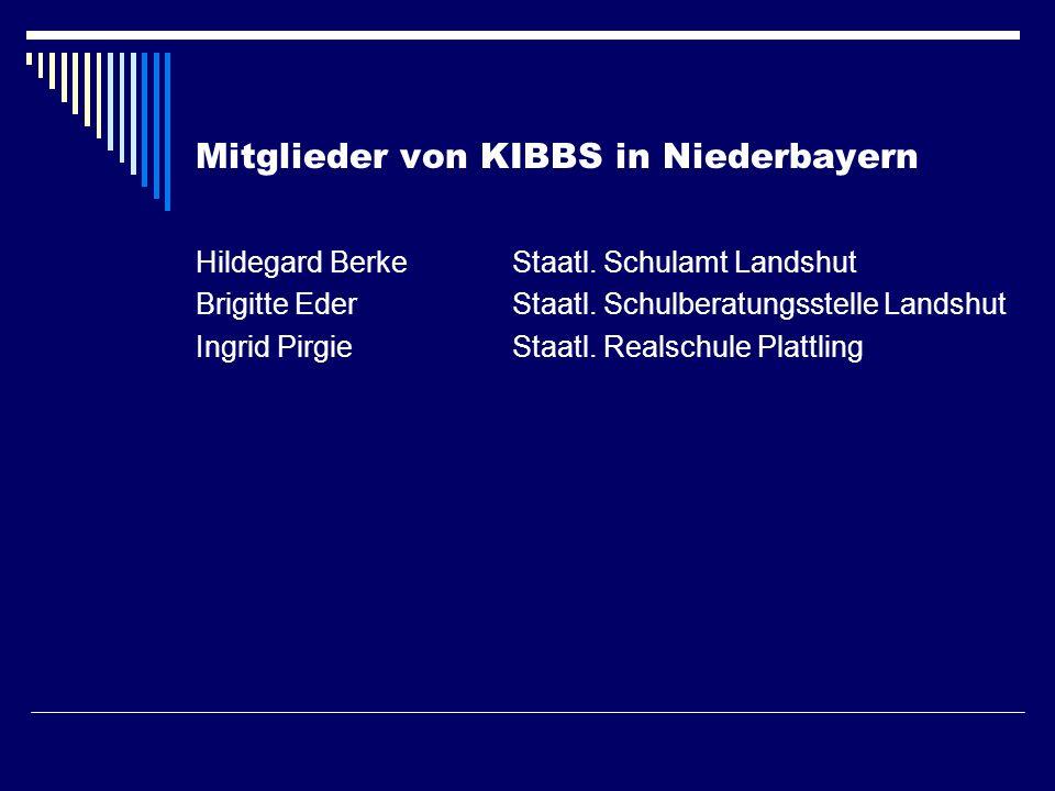 Mitglieder von KIBBS in Niederbayern
