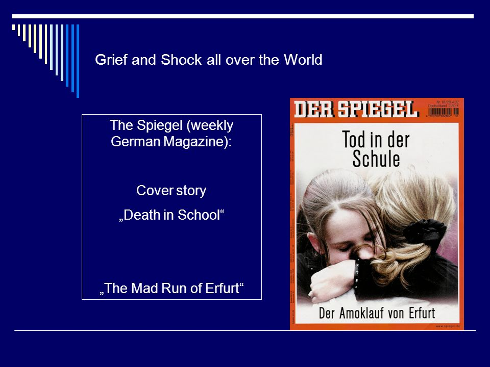 Grief and Shock all over the World