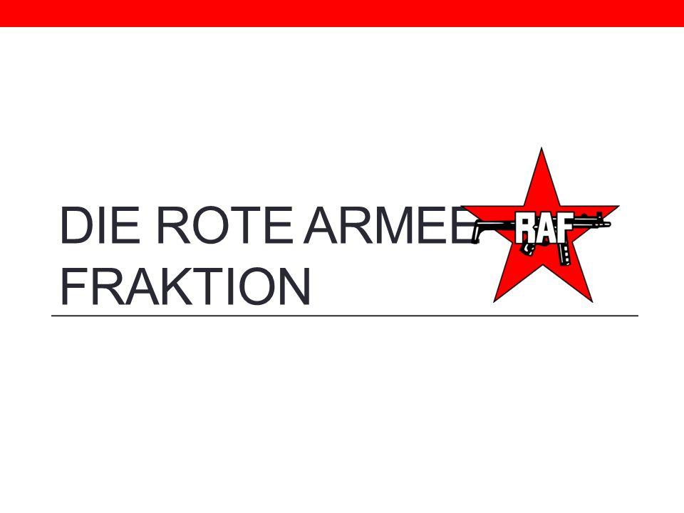 Die Rote Armee Fraktion