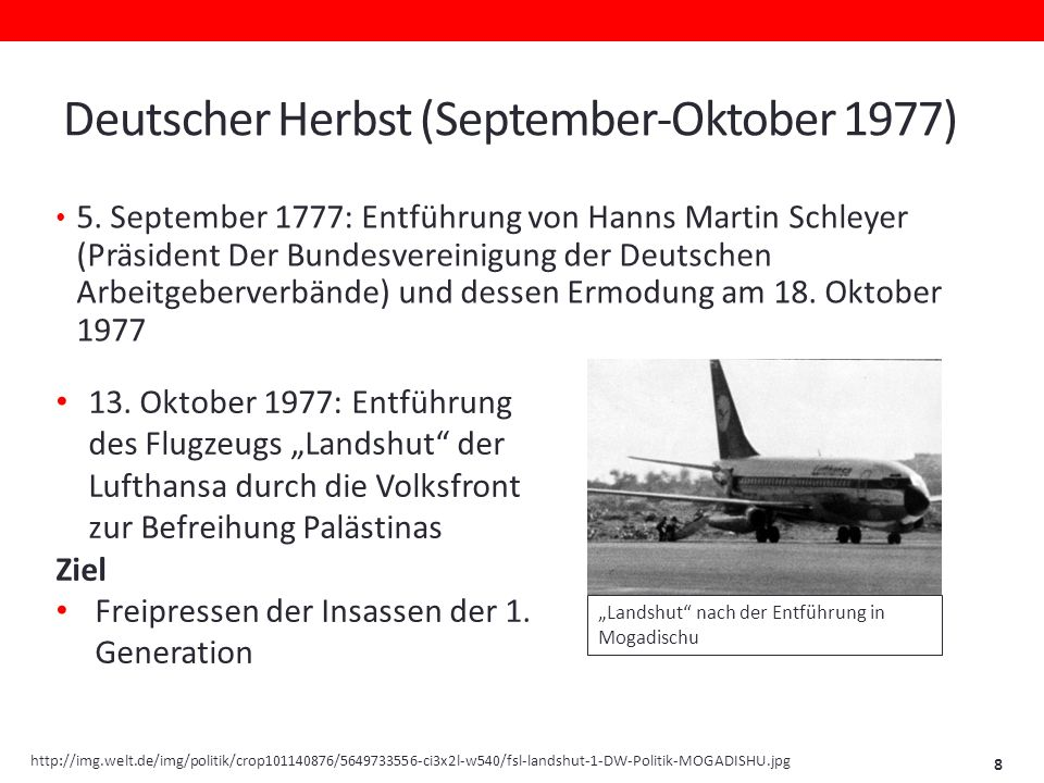 Deutscher Herbst (September-Oktober 1977)