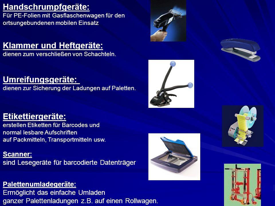 Klammer und Heftgeräte: