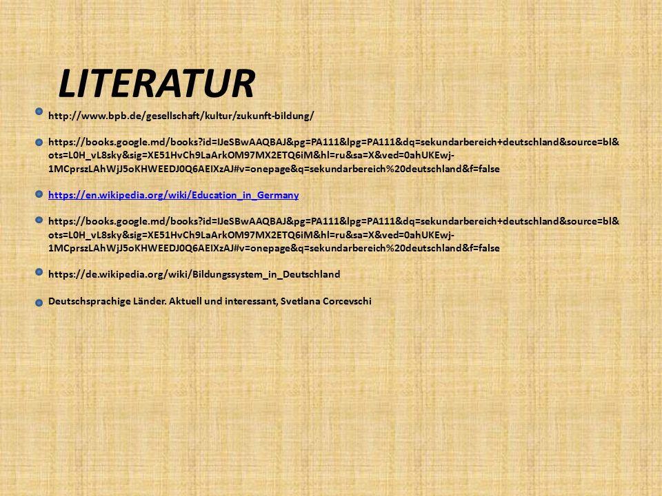 LITERATUR http://www. bpb