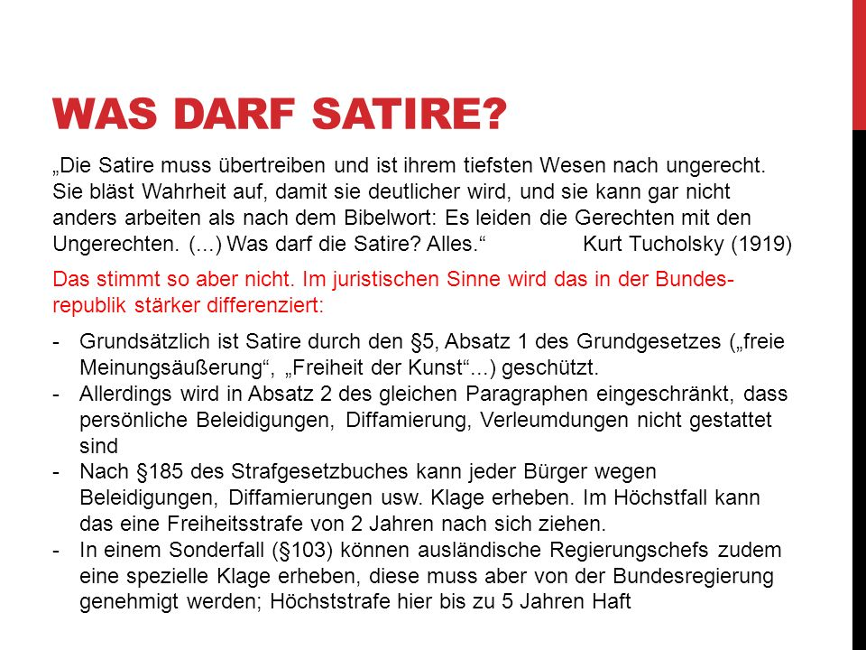 Was darf Satire