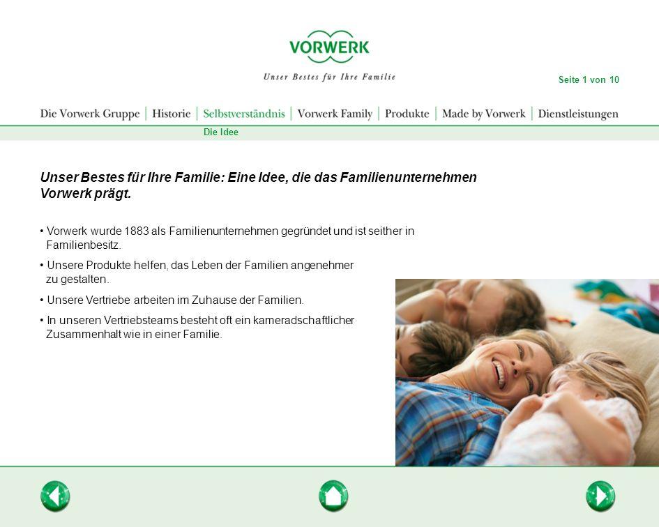 Unser Bestes für Ihre Familie: Eine Idee, die das Familienunternehmen