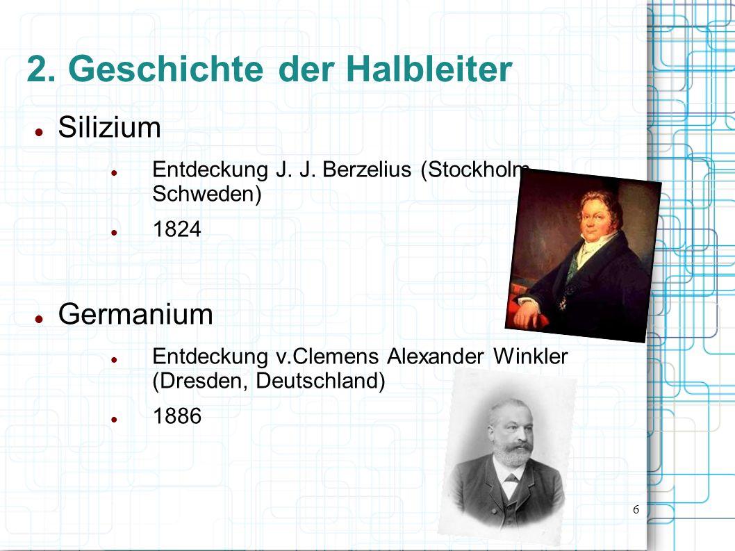 2. Geschichte der Halbleiter