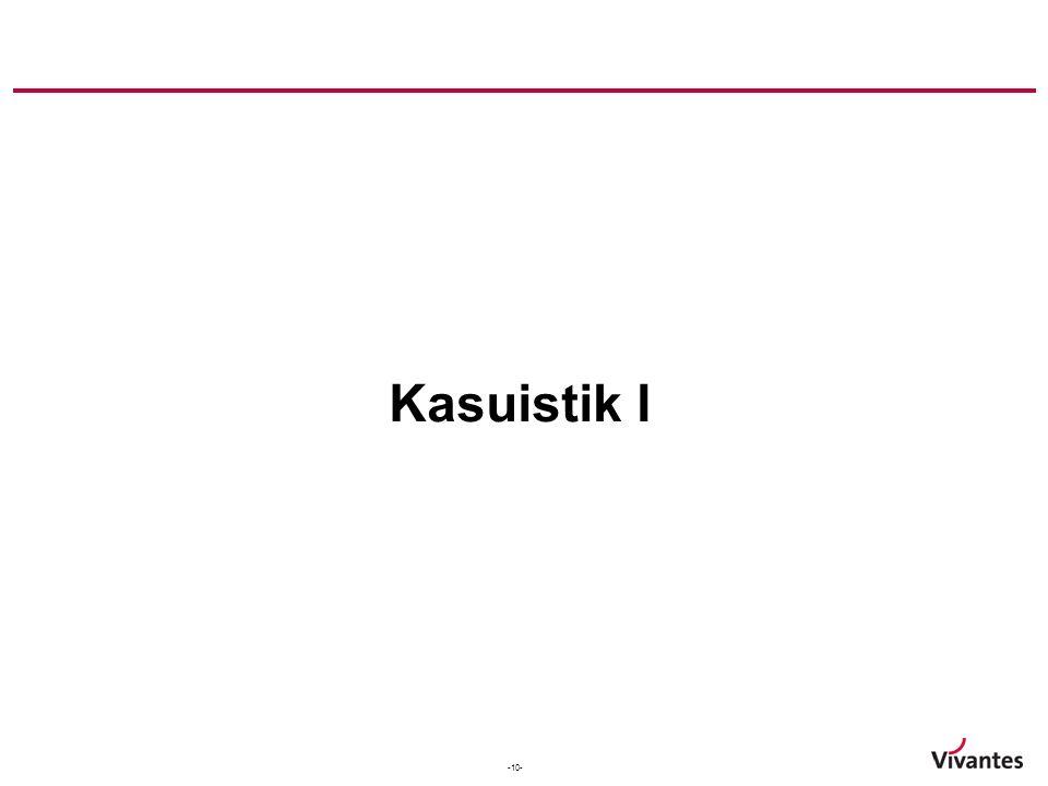 Kasuistik I