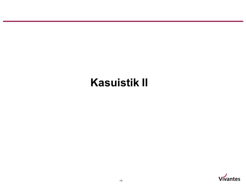 Kasuistik II