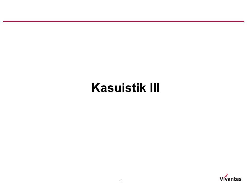 Kasuistik III