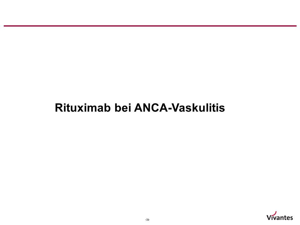 Rituximab bei ANCA-Vaskulitis