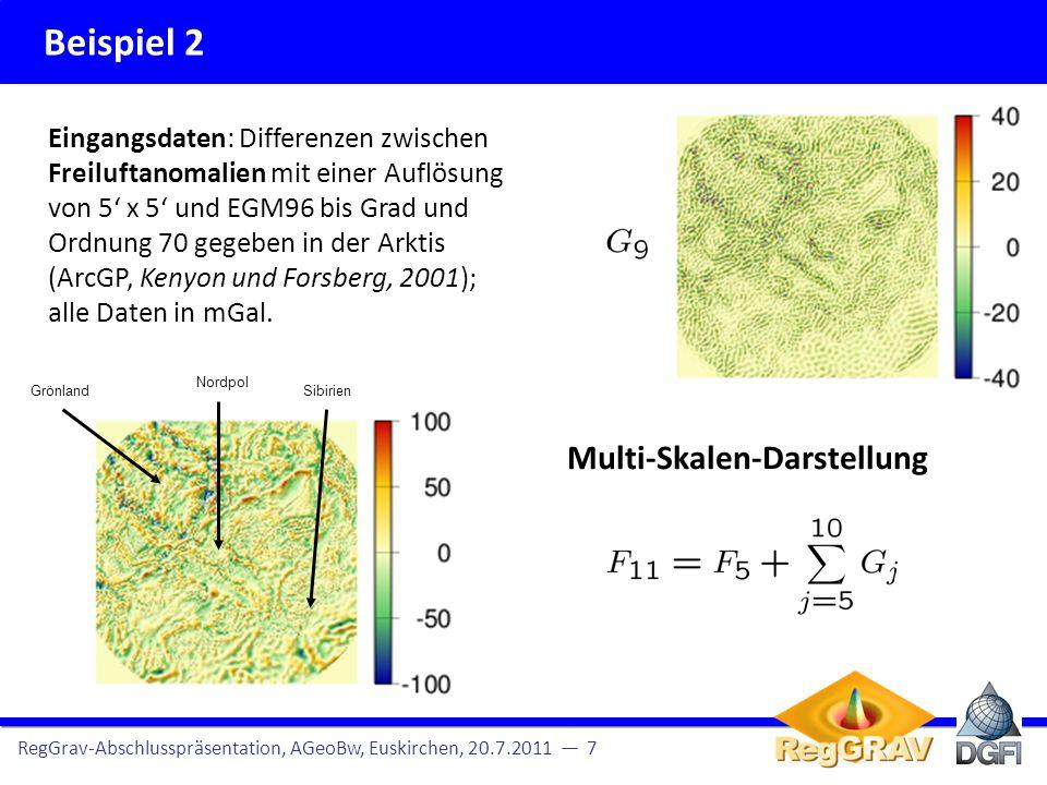 Beispiel 2 Multi-Skalen-Darstellung