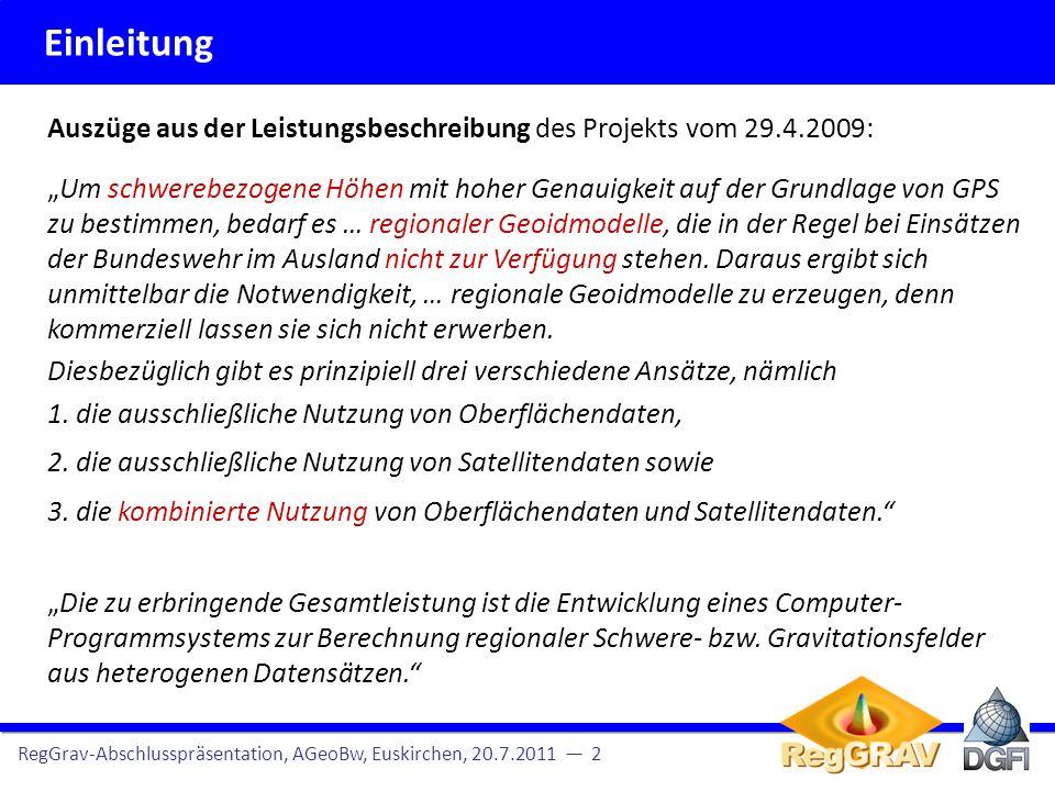 EinleitungAuszüge aus der Leistungsbeschreibung des Projekts vom 29.4.2009:
