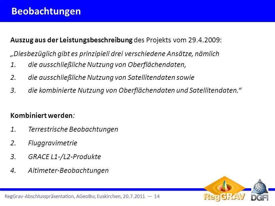 """Beobachtungen Auszug aus der Leistungsbeschreibung des Projekts vom 29.4.2009: """"Diesbezüglich gibt es prinzipiell drei verschiedene Ansätze, nämlich."""