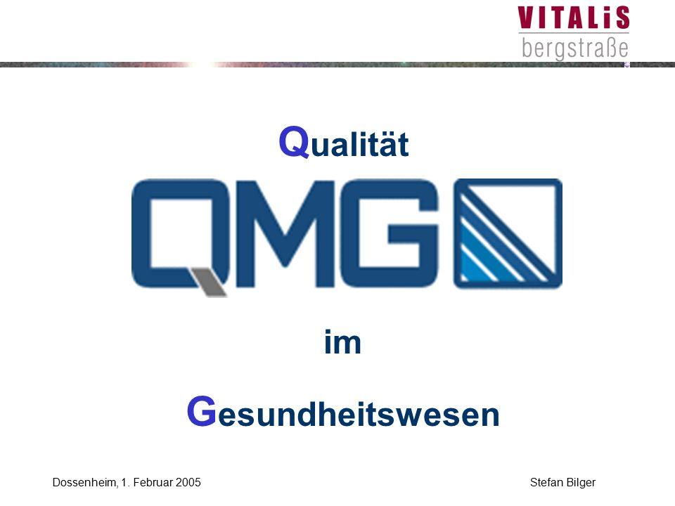 Qualität Management Gesundheitswesen