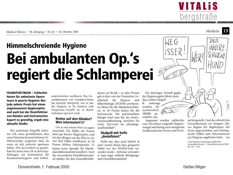 Dossenheim, 1. Februar 2005