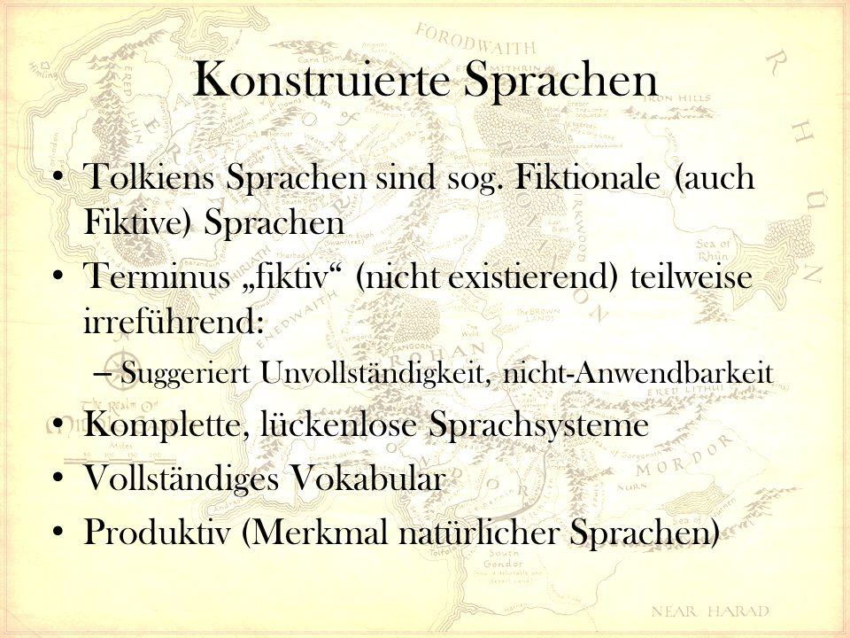 Konstruierte Sprachen