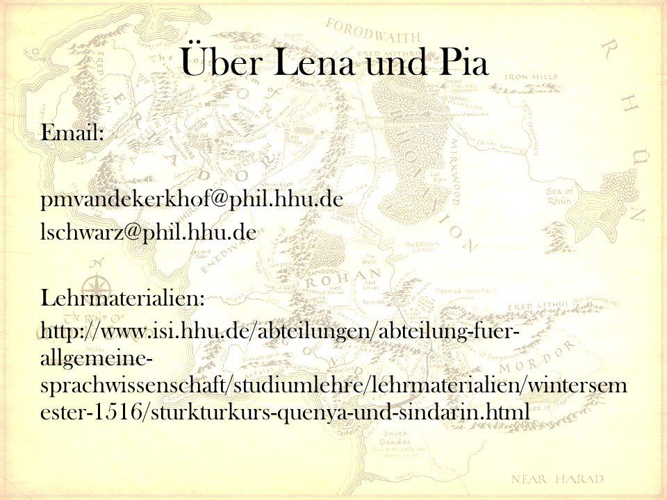 Über Lena und Pia