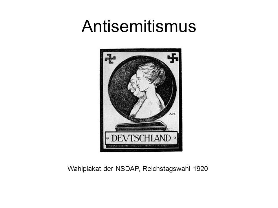 Wahlplakat der NSDAP, Reichstagswahl 1920