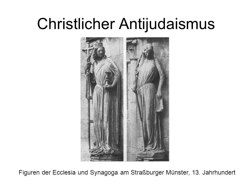 Christlicher Antijudaismus