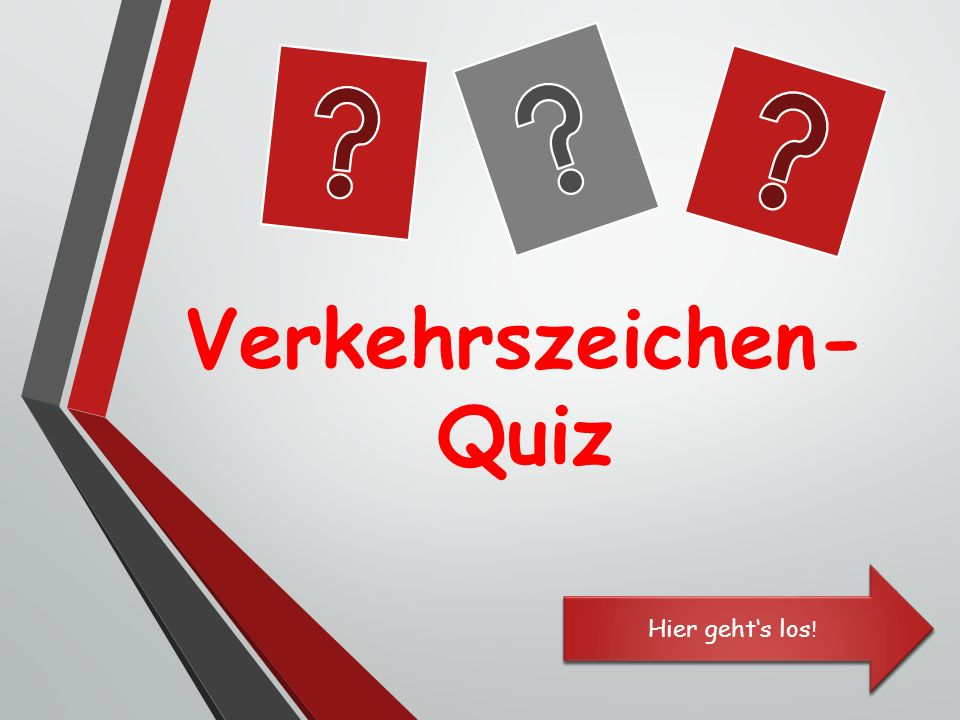 verkehrszeichen quiz ppt herunterladen. Black Bedroom Furniture Sets. Home Design Ideas