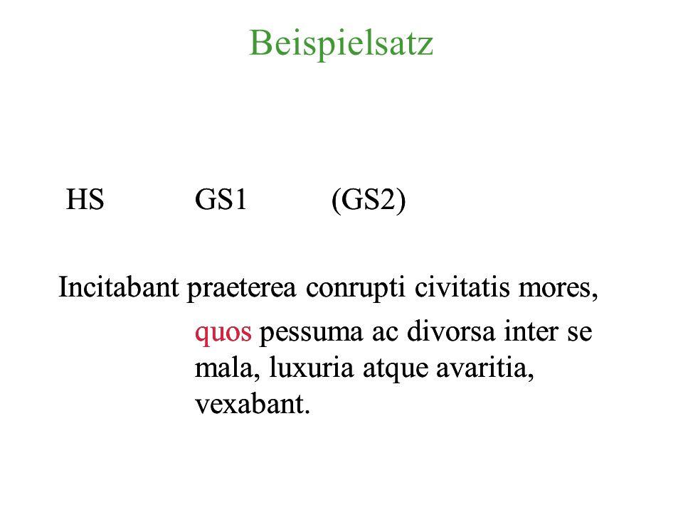 Beispielsatz HS GS1 (GS2)