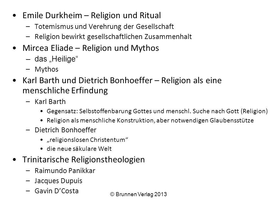 Emile Durkheim – Religion und Ritual