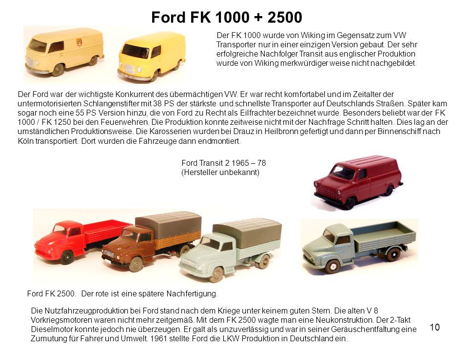 Ford FK 1000 + 2500