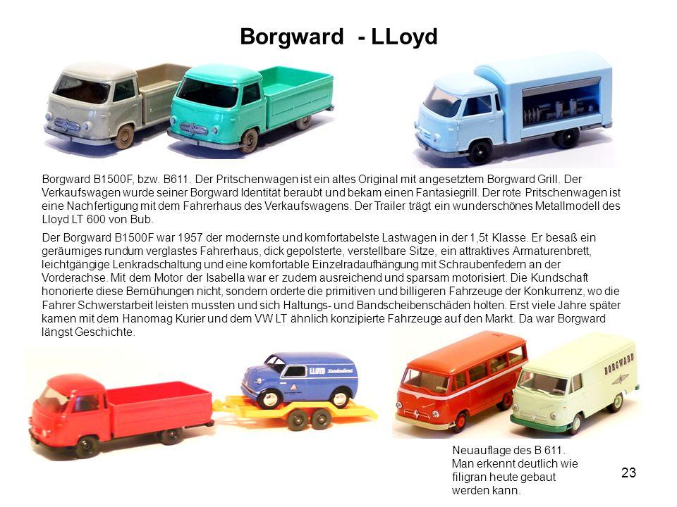 Borgward - LLoyd