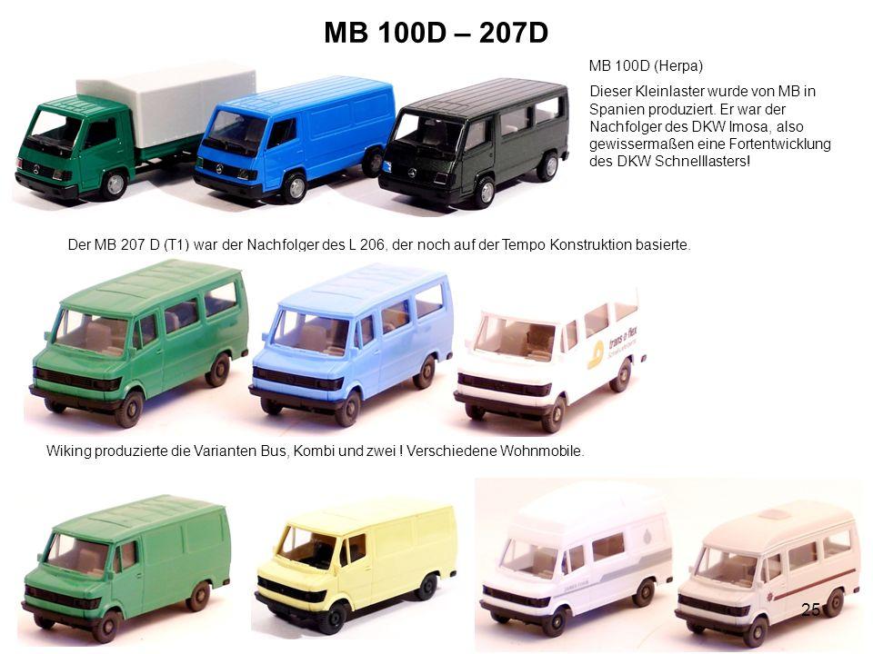 MB 100D – 207D MB 100D (Herpa)