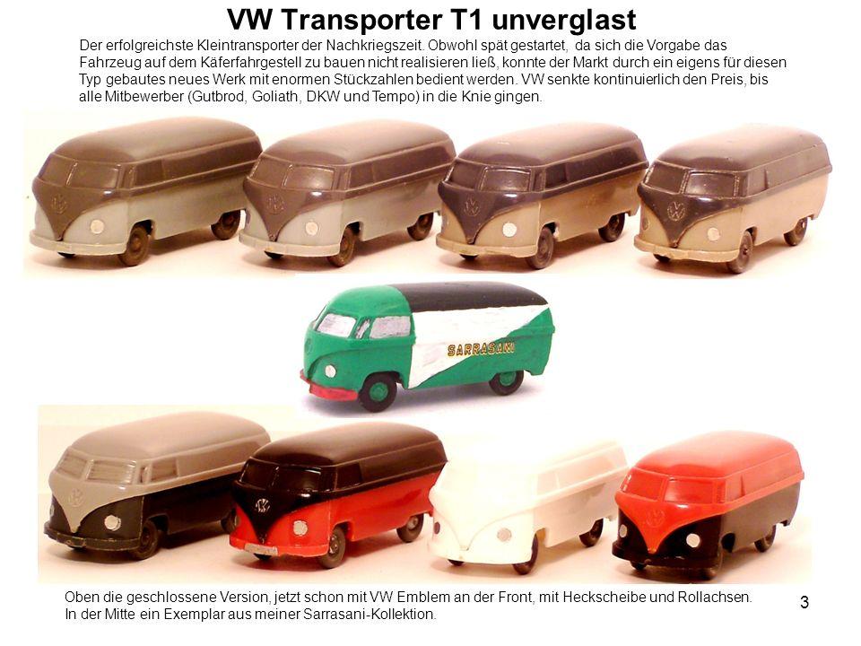 VW Transporter T1 unverglast