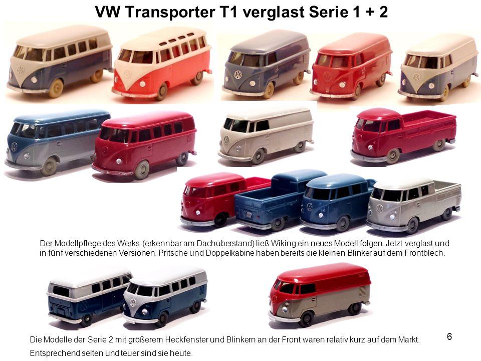 VW Transporter T1 verglast Serie 1 + 2