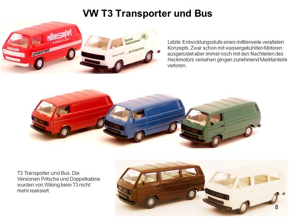 VW T3 Transporter und Bus