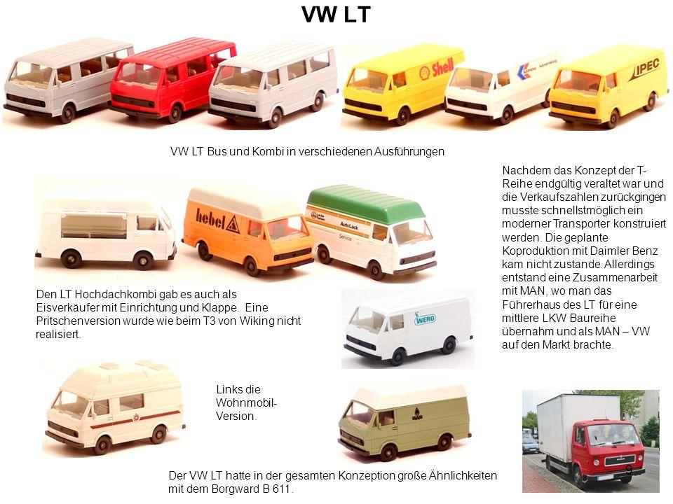 VW LT Bus und Kombi in verschiedenen Ausführungen
