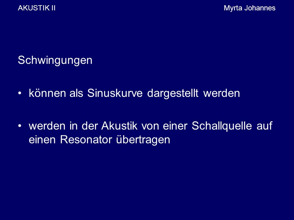AKUSTIK II Myrta Johannes