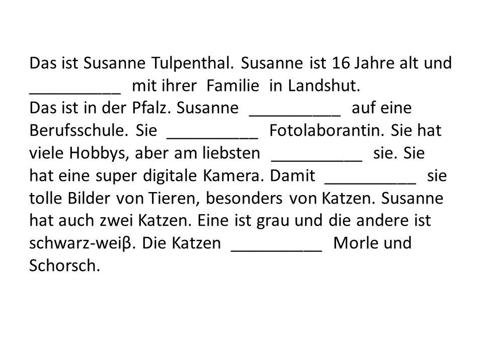 Das ist Susanne Tulpenthal