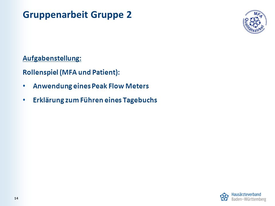 Gruppenarbeit Gruppe 2 Aufgabenstellung: