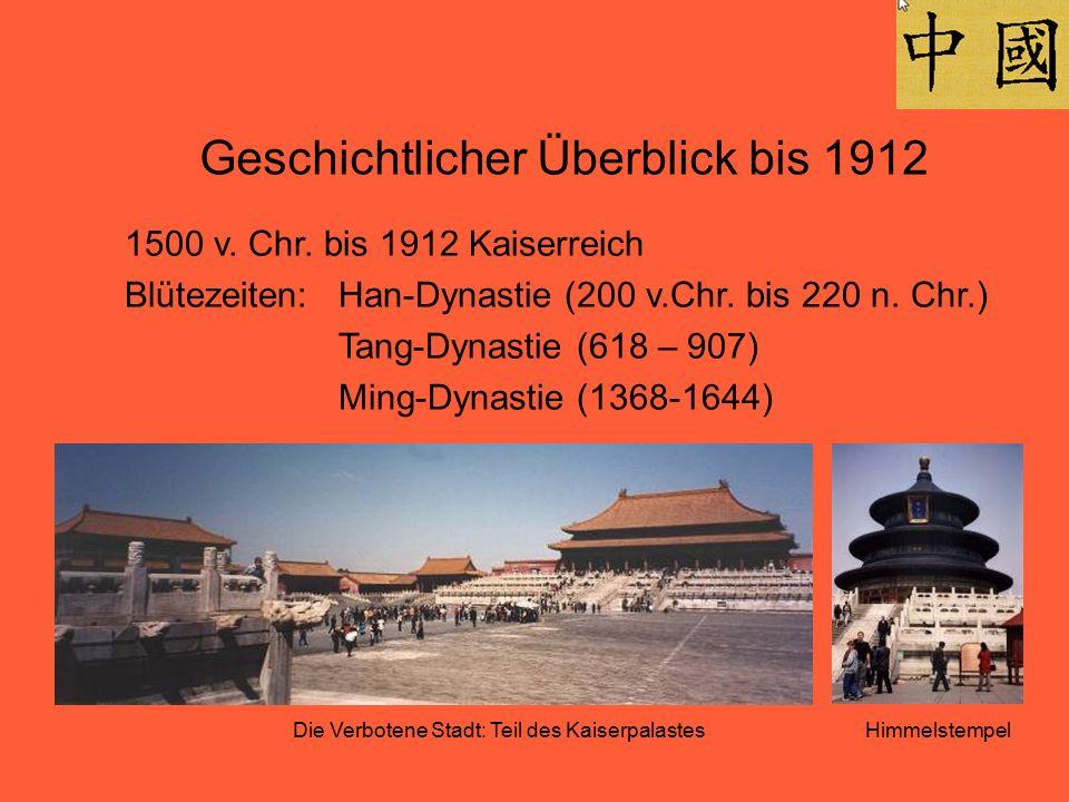 Geschichtlicher Überblick bis 1912