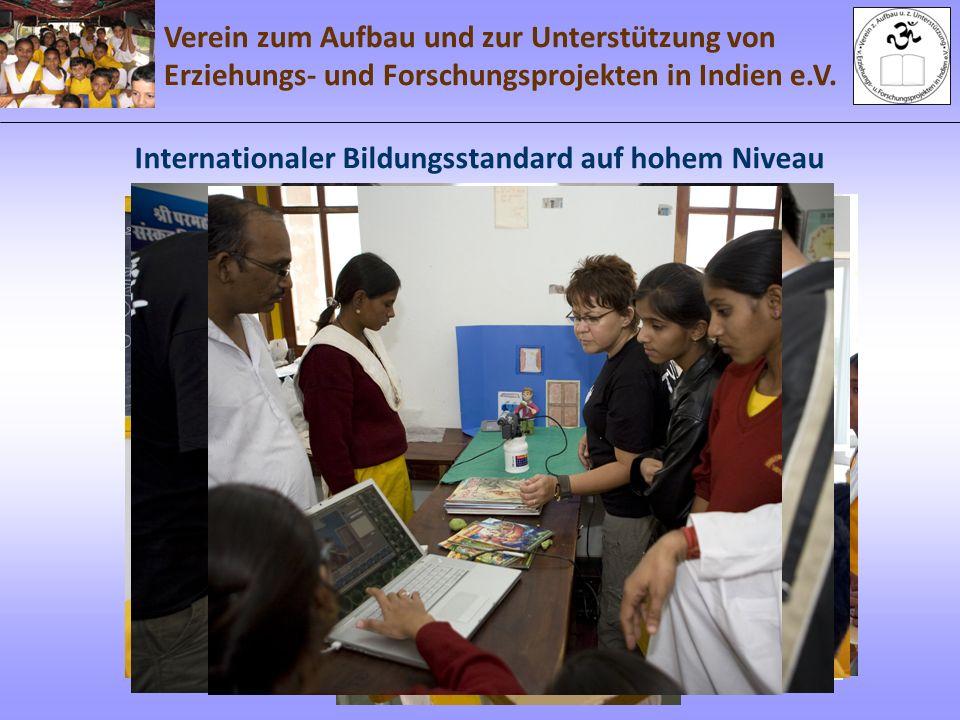 Internationaler Bildungsstandard auf hohem Niveau