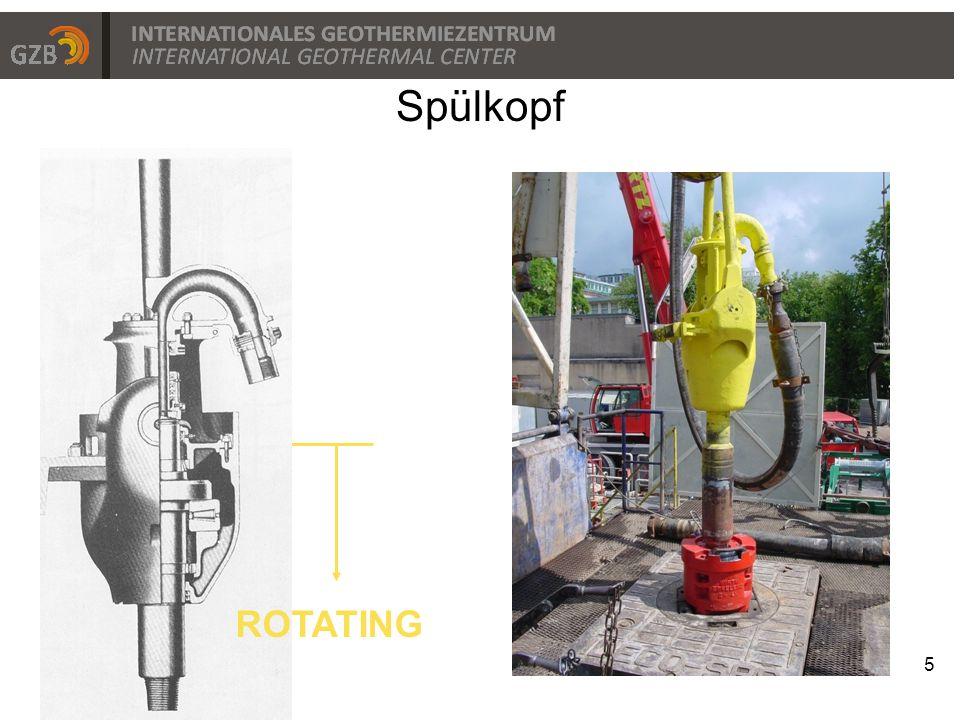 Spülkopf ROTATING