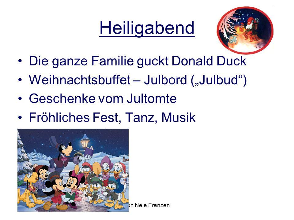 Heiligabend Die ganze Familie guckt Donald Duck