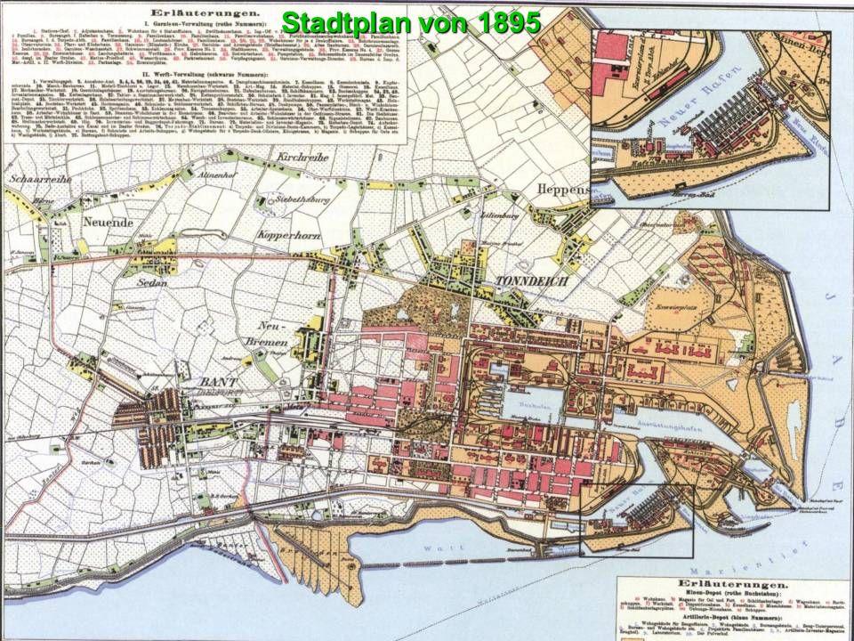 Stadtplan von 1895