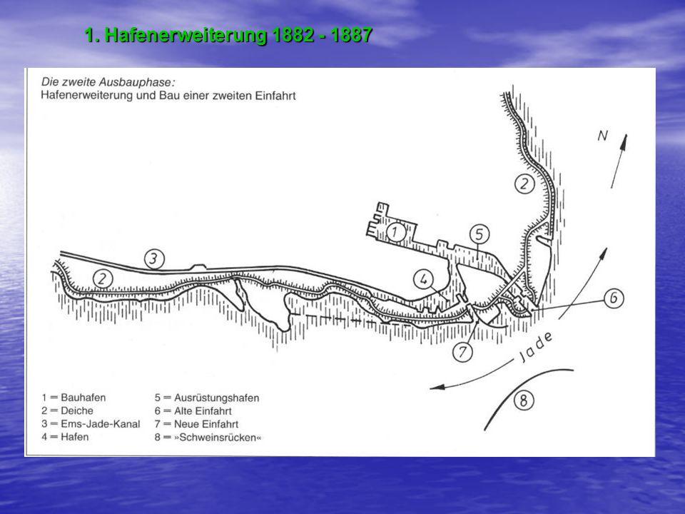 1. Hafenerweiterung 1882 - 1887