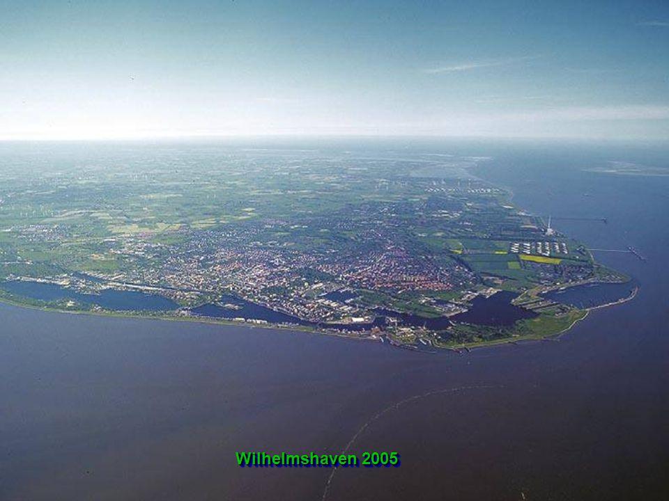 Die Stadt WILHELMSHAVEN mit ihren rund 83