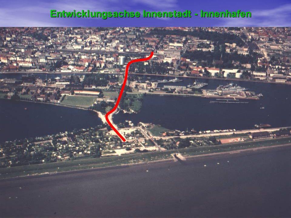 Entwicklungsachse Innenstadt - Innenhafen