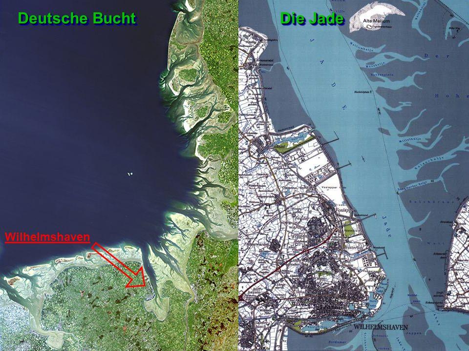 Deutsche Bucht Die Jade Wilhelmshaven