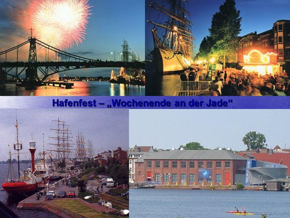 """Hafenfest – """"Wochenende an der Jade"""