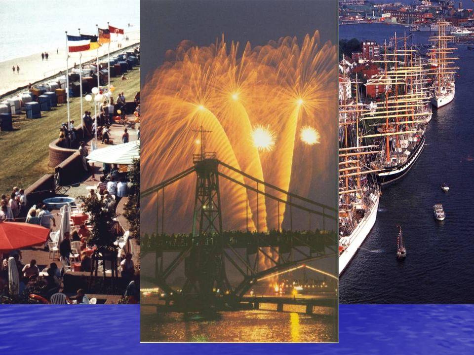 Ein weiteres wirtschaftliches Standbein der Stadt wird sichtbar in ihrer zunehmenden Bedeutung als Freizeit- und Kulturzentrum an der Nordsee.