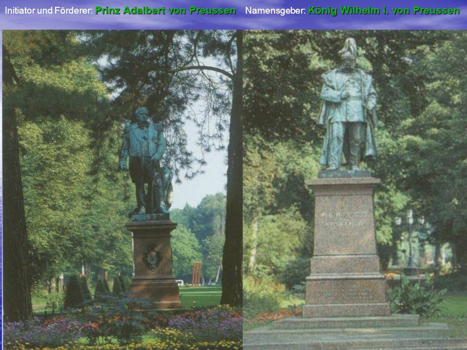 Initiator und Förderer: Prinz Adalbert von Preussen